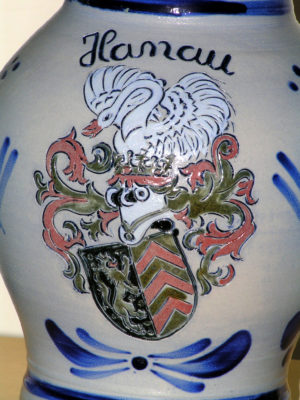 Bembel mit Hanau Wappen